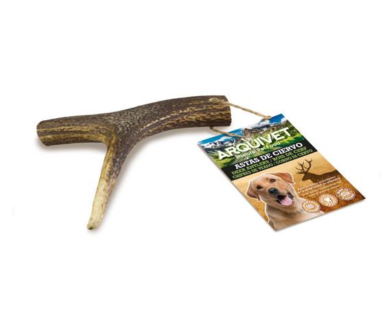 snack cane corno di cervo