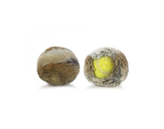 Gioco addestramento cane cover palla da tennis coniglio Firedog