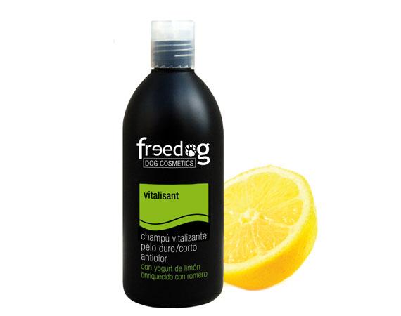 shampoo rivitalizzante per cani dal pelo duro o corto
