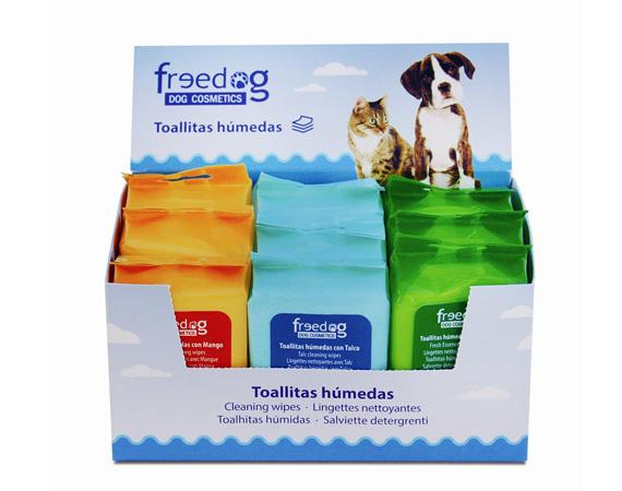 salviette detergenti per cani e gatti