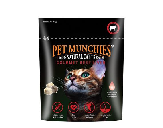 Snack gatto fegato di manzo