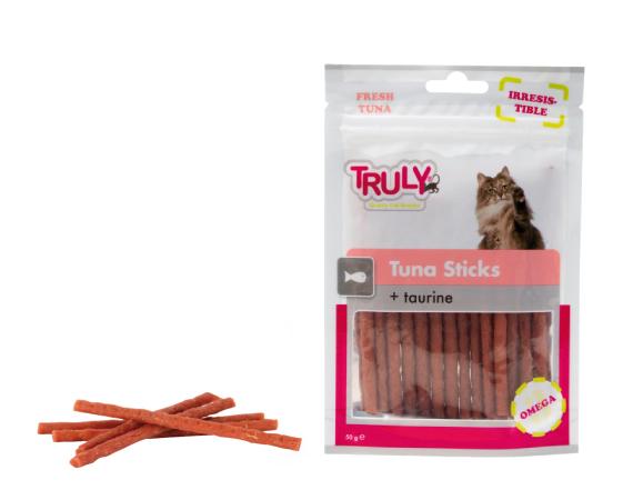 Snack gatto stick al tonno con taurina